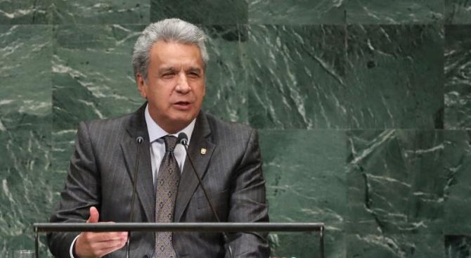 Президентът на Еквадор: Джулиан Асандж се е държал зле в посолството в Лондон