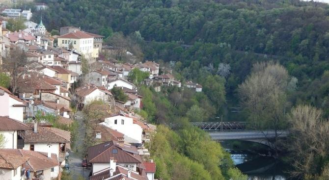 Временна организация на движението във Велико Търново