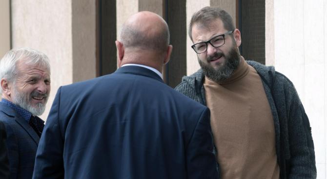 Гриша и Данаил Ганчеви се явиха в Специализирания съд