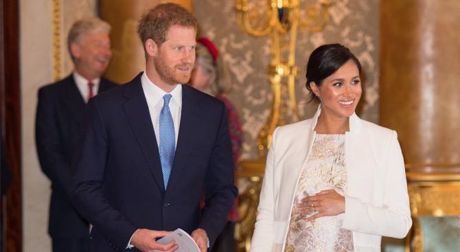 Бебето на принц Хари и Меган може да се роди на датата на няколко кралски особи
