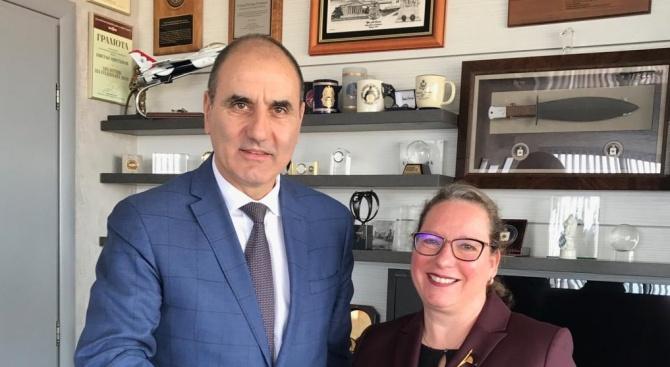 Цветан Цветанов проведе работна среща с посланика на Израел в България Н.Пр. Ирит Лилиан