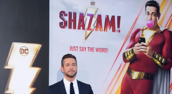 """""""Шазам!"""" продължава да е най-гледаният филм у нас"""