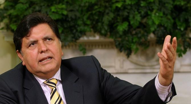 Бивш президент на Перу направи опит за самоубийство преди да го арестуват