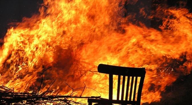 Закопчаха 19-годишен за умишлен палеж на къща в село Перперек