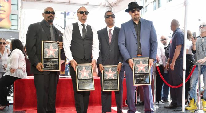 """Рап групата """"Сайпръс Хил"""" получи звезда на Холивудската алея на славата"""