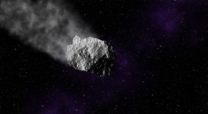 Астероид колкото къща мина близо до Земята