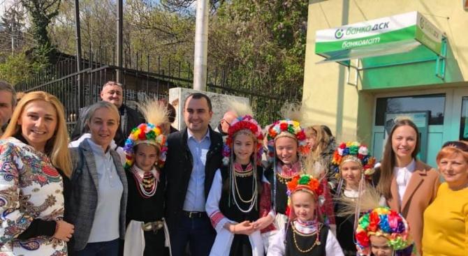 """Ева Майдел присъства на фолклорен фестивал """"Лазаруване""""в район """"Витоша"""""""