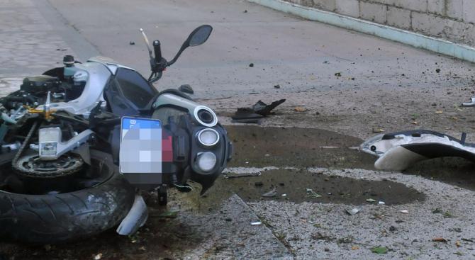 Мотоциклетист пострада при катастрофа край Смолян