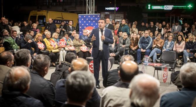 Заев: Ще победим със 100 000 гласа разлика на втория тур на изборите