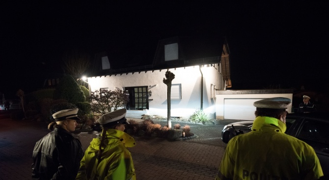 Бомба гръмна в Германия. Нанесе щети