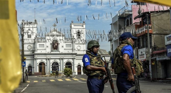 Бременна ислямистка се самовзриви заради Кървавия Великден в Шри Ланка