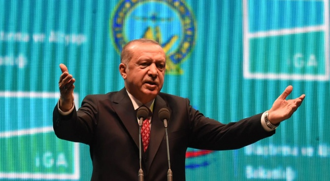 Ердоган поздрави Зеленски за победата на изборите в Украйна