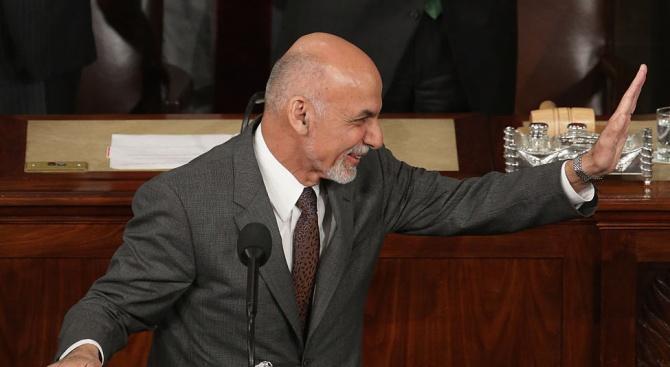 Ашраф Гани откри първото заседание новия парламент на Афганистан