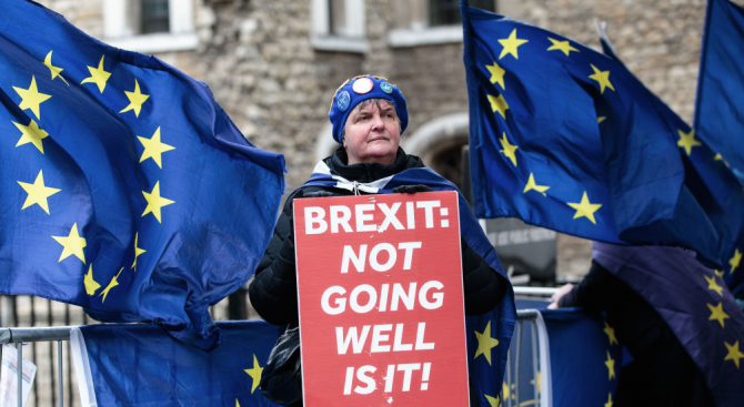 Предстои важна седмица по въпроса с Брекзит