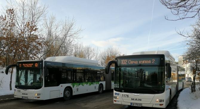 ЦГМ въвежда специален режим на работа на градския транспорт