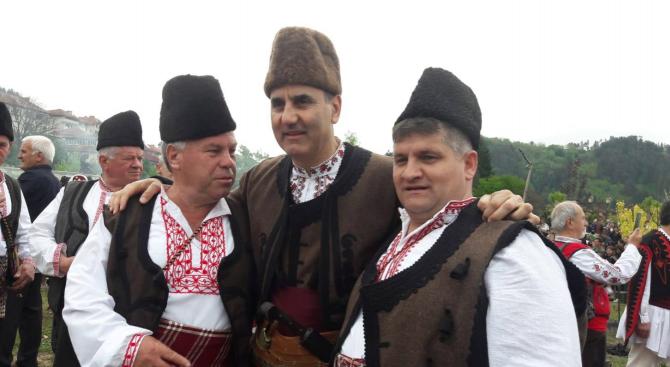 Цветанов участва в празника на родопското чеверме в Златоград