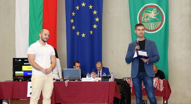 Николай Диков от ГЕРБ: Успехите в спорта и в училището са формулата за развитие на всеки млад човек