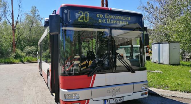 И във Велико Търново автобусите ще бъдат с електронни табели