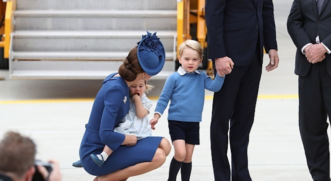 """Принц Джордж е """"загатнал"""" името Арчи преди няколко месеца"""