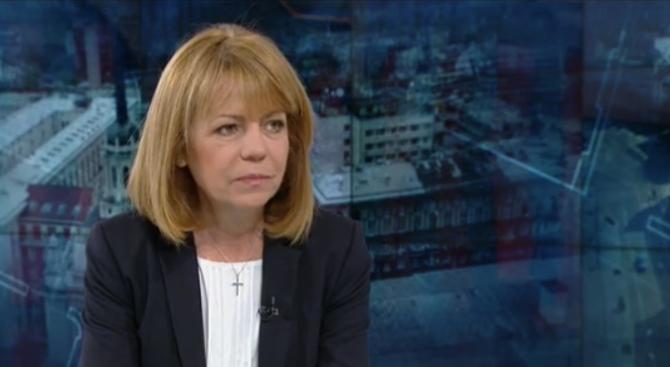 """Йорданка Фандъкова: Няма пейка на """"Граф Игнатиев"""", която струва 10 000 лева"""