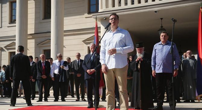 Сръбският президент Александър Вучич: Армията ни е силна