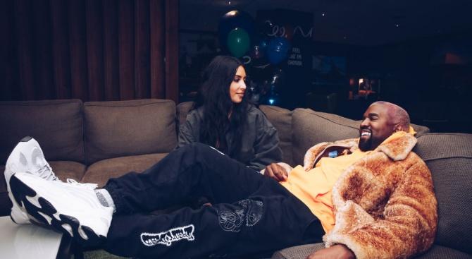 Ким Кардашиян и Кание Уест посрещнаха бебе номер 4