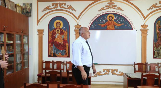 """Борисов посети манастирския комплекс """"Свети Йоан Предтеча"""" в Кърджали"""