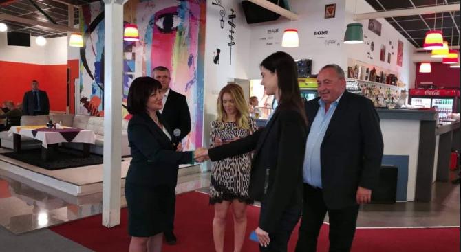 Цвета Караянчева в Пловдив: България се преобразява с подкрепата на европейската солидарност