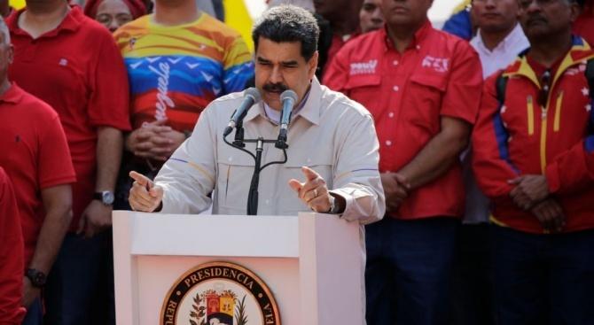"""""""Време е да въстанем"""" срещу Мадуро, каза венецуелски генерал"""