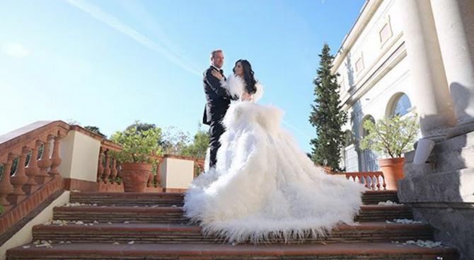 В рокля за 50 бона се омъжи Цеци