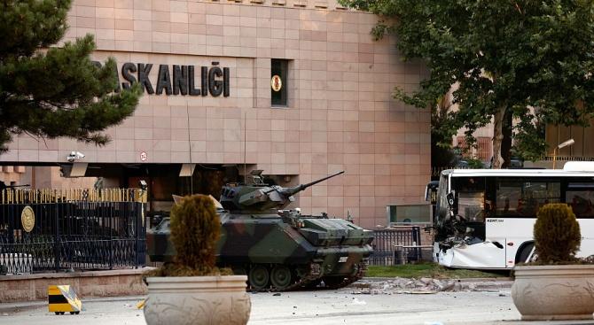 Опит за атентат в турския парламент?
