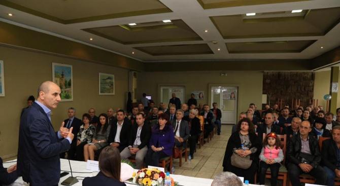 Цветанов: През 2023 година трябва да имаме завършена магистрала от София до Велико Търново