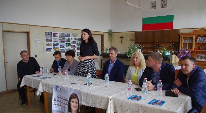 Йоана Йончева - Фильова: Радвам се, че град Шипка е променен и продължава да се развива