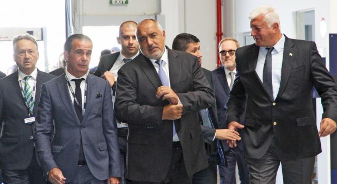 Борисов в нов завод в Шумен: Това е реалната индустриализация в страната