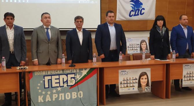 Кандидатът за евродепутат от ГЕРБ Младен Шишков в Карлово: Това са избори, в които ще заявим как бихме искали да се развива България през идните години