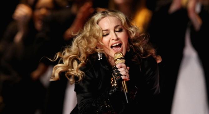 Мадона посети нощен клуб в Тел Авив