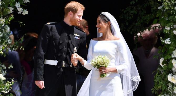 Меган и Хари празнуват годишнина от сватбата си днес