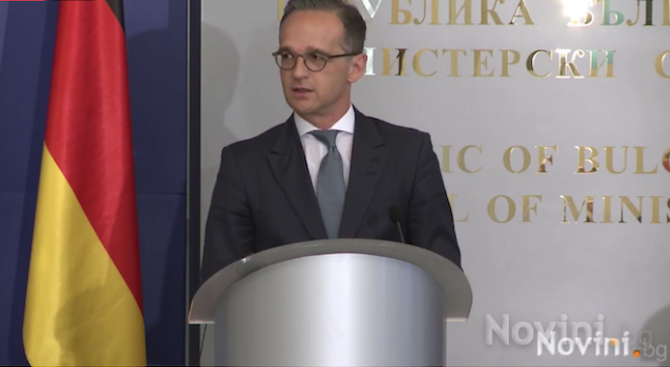 Германският външен министър: България е силен проевропейски партньор, намиращ се в сърцето на Европа
