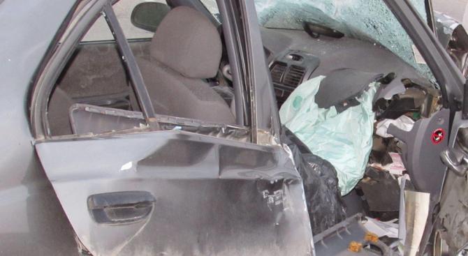 Две 18-годишни момичета са пострадали при катастрофа край Добрич