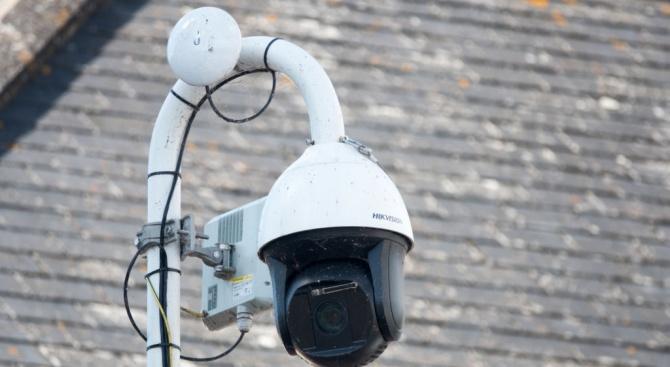 Система за видеонаблюдение е монтирана на Скалния манастир край село Крепча