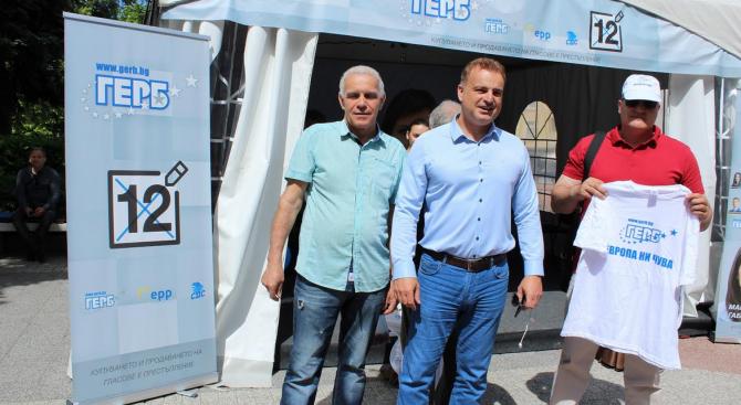 Народният представител от ГЕРБ Атанас Ташков в Пловдив: Гласувайте активно на 26 май