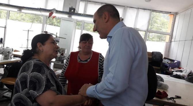 Цветанов: Постигнатите резултати в Девин се дължат на отличната работа на общинската администрация