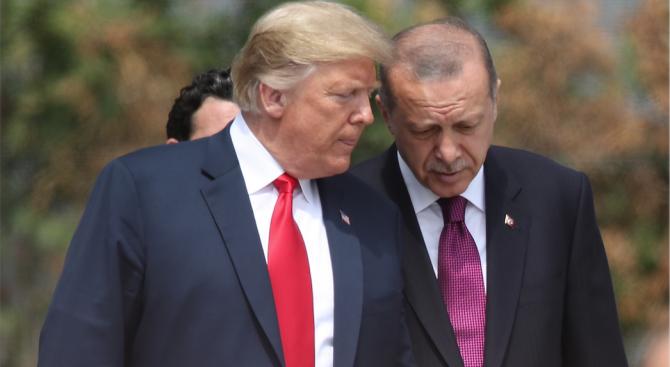 Ердоган и Тръмп може да се срещнат скоро на четири очи