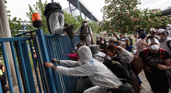 Белгийски младежи отново се събират на поход в защита на околната среда