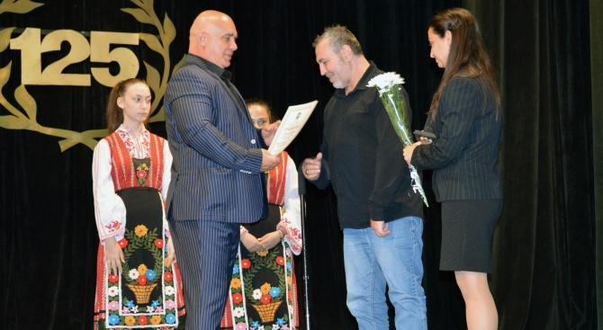 Христо Мутафчиев и Мая Манолова са почетни граждани на Тополовград