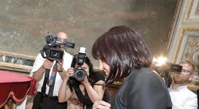 Цвета Караянчева в Рим: Горди сме, че над 300 млн славяни пишат на кирилица