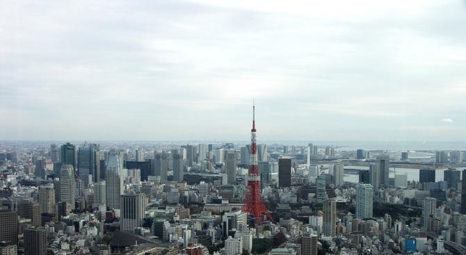 Земен трус с магнитуд 5,1 разтърси сгради в Токио