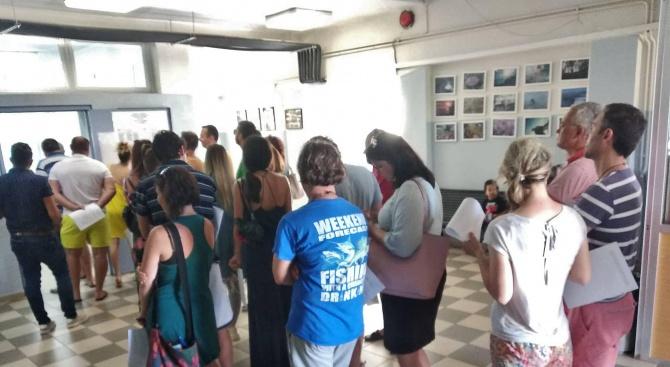 Огромен интерес към избирателната секция в Никити