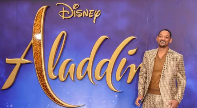 """""""Аладин"""" е най-гледаният филм и у нас"""