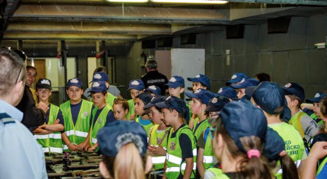 "Приключи второто областно състезание ""Детско полицейско управление"" в Пазарджик"